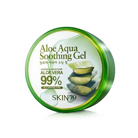 SKIN79 Aloe Aqua Smoothing Gel Łagodzący żel aloesowy 99%