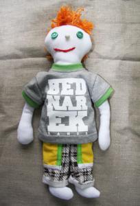 Lalka Bob od K. BEDNARKA  Autograf