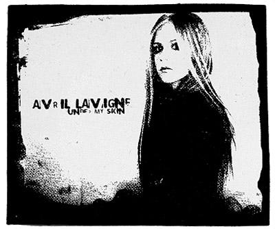 Avril Lavigne naszywka