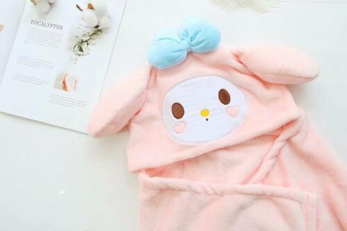 my melody mickey minnie tigger Plush Cloak Warm Cape Quilt Coat Anime Blanket
