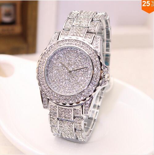 Zegarek  - kolor srebrny