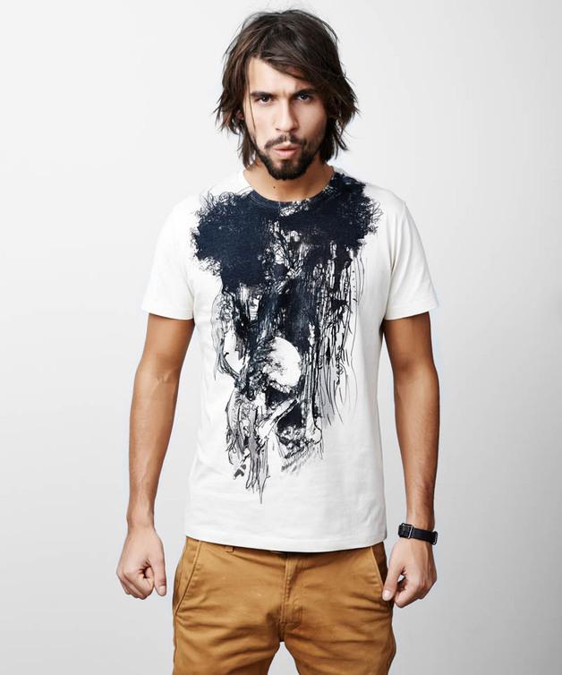 Iban trophy beige T-shirt - SELVA