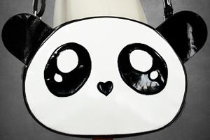 torba torebka PANDA japan emo punk retro wiosna