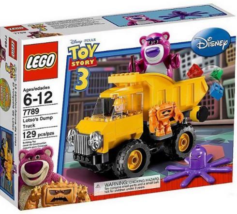 KLOCKI LEGO TOY STORY 7789 WYWROTKA LOTSO