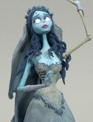 Figurka Gnijącej z Corpse Bride.