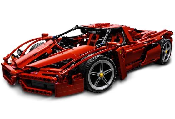Lego Ferrari Enzo 1:10