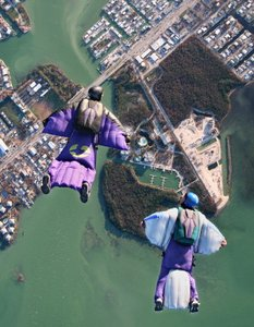 skok spadochronowy z intruktorem