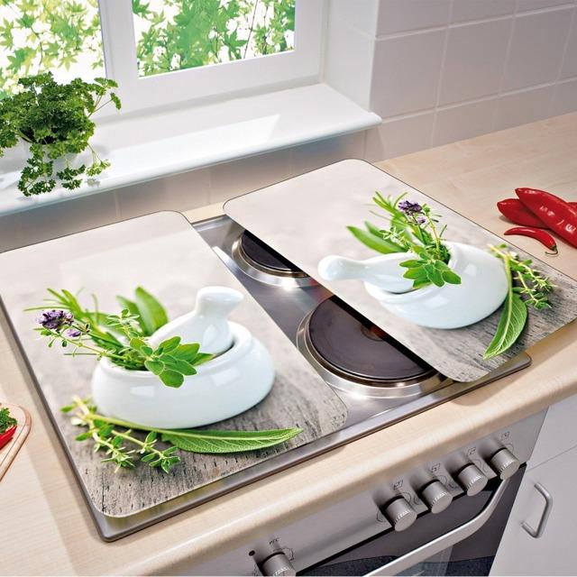 szklane płyty na kuchenke