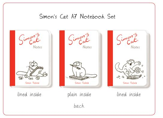 Simon's Cat A7 Notebook Set
