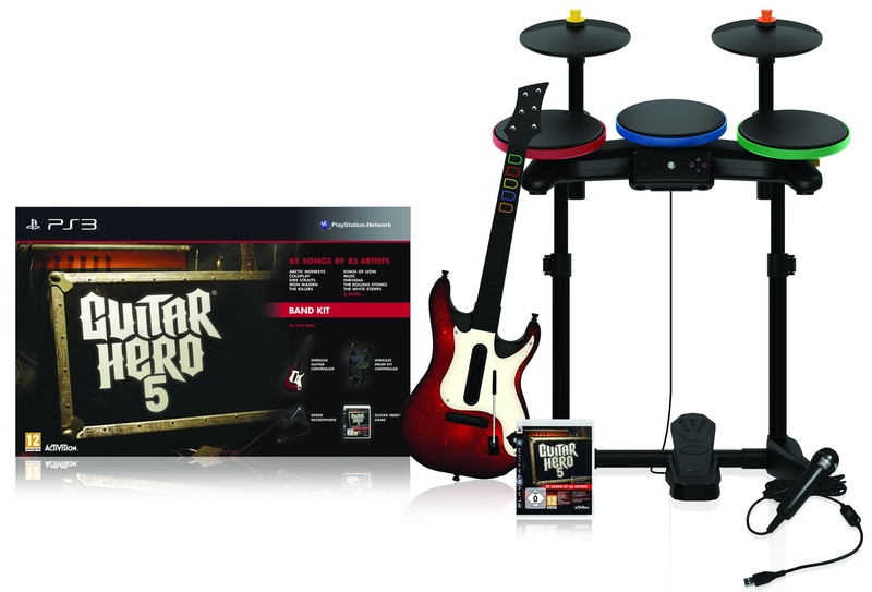 PS3 GUITAR HERO 5 SUPER BUNDLE
