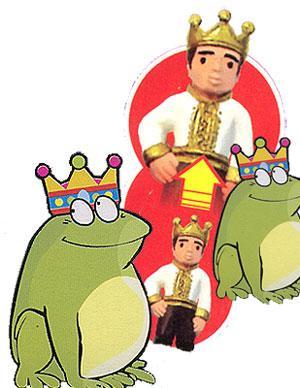 Królewicz z żaby