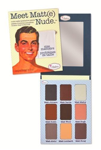 theBalm Meet Matt(e) Nude paleta 9 cieni