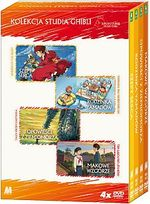 STUDIO GHIBLI - ANIME (KOLEKCJA 1) 4 DVD BOX