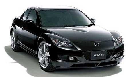 Mazda RX8 po tuningu