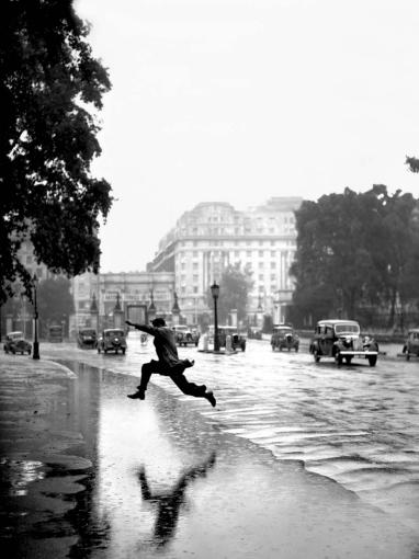 Reprodukcja foto: Londyn, Hyde Park 1939