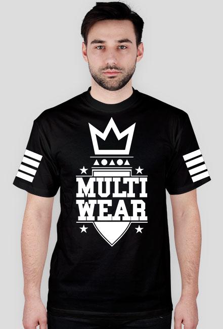 Czarna koszulka MULTI WEAR