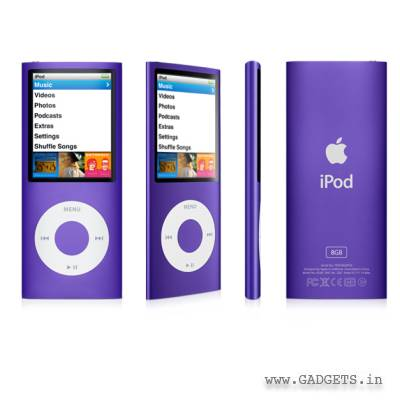 Fioletowy iPod