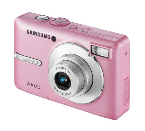 Różowy aparat fotograficzny