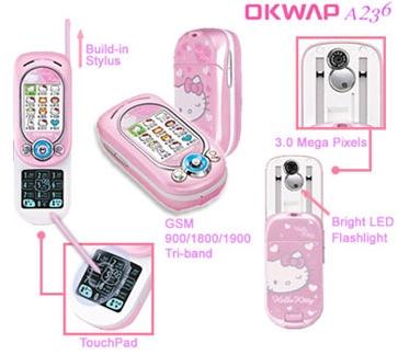 Telefon z Hello Kitty niespotykany :D