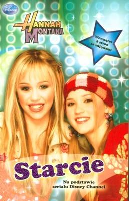 Książka Hannah Montana 'Starcie' na podstawie serialu 'HM'. Disney Channel.