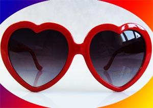 okulary serca .