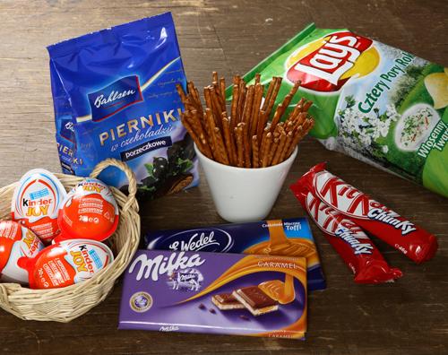 Dożywotni zapas słodyczy ( oprócz czekolady )