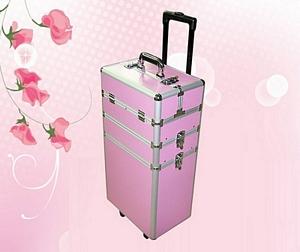 Duży kufer na kosmetyki 4w1