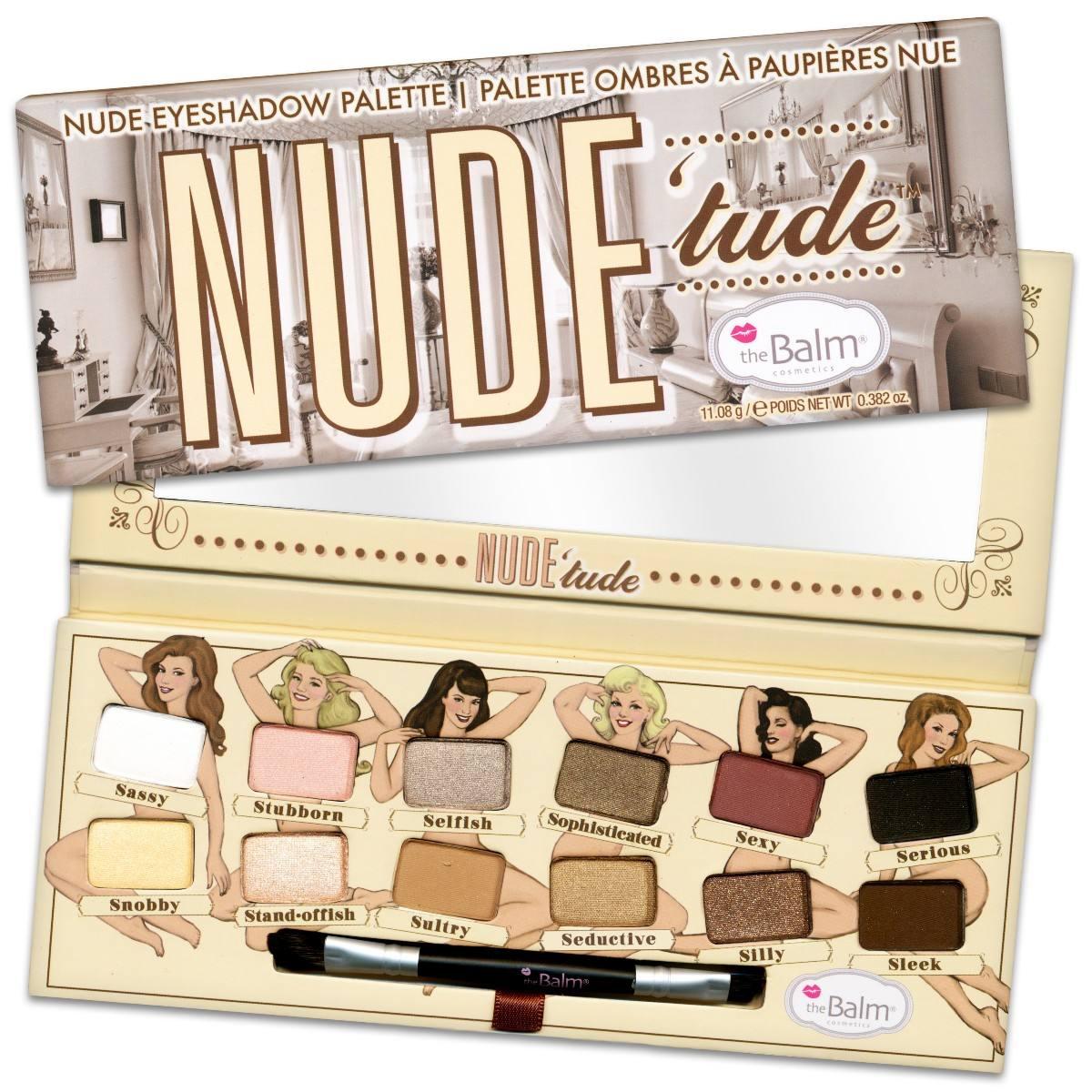 paleta cieni The Balm Nude Tude