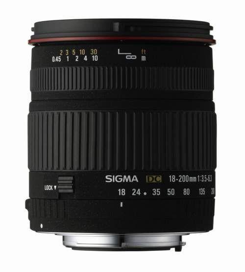 Obiektyw SIGMA 18-200 / 3.5-5.6 DC Pentax