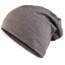 Czapka Master Jersey Beanie heather charcoal