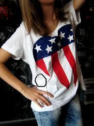 Koszulka z flagą USA