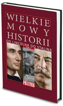 Książka Wielkie Mowy Historii - TOM 2