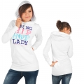 Wrung Lady Hip Game Hoody white