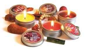 swieczki zapachowe
