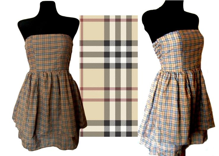 Sukienka, bez ramiączek, letnia ;)