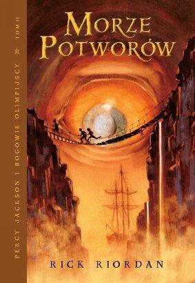 Morze Potworów. Percy Jackson i Bogowie Olimpijscy, tom 2 - Rick Riordan