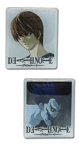 Znaczki Death Note