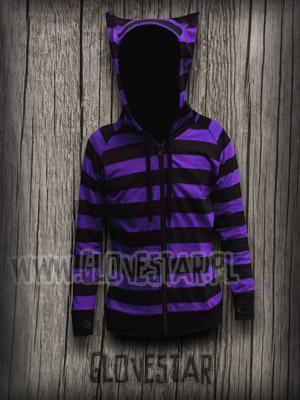 Kliknij aby zobaczyć zdjęcie w oryginalnej wielkości longsleeve kotek dark fiolet