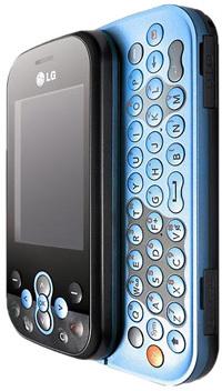 Niebieski LG KS360