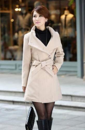 Kremowa kurtka damska