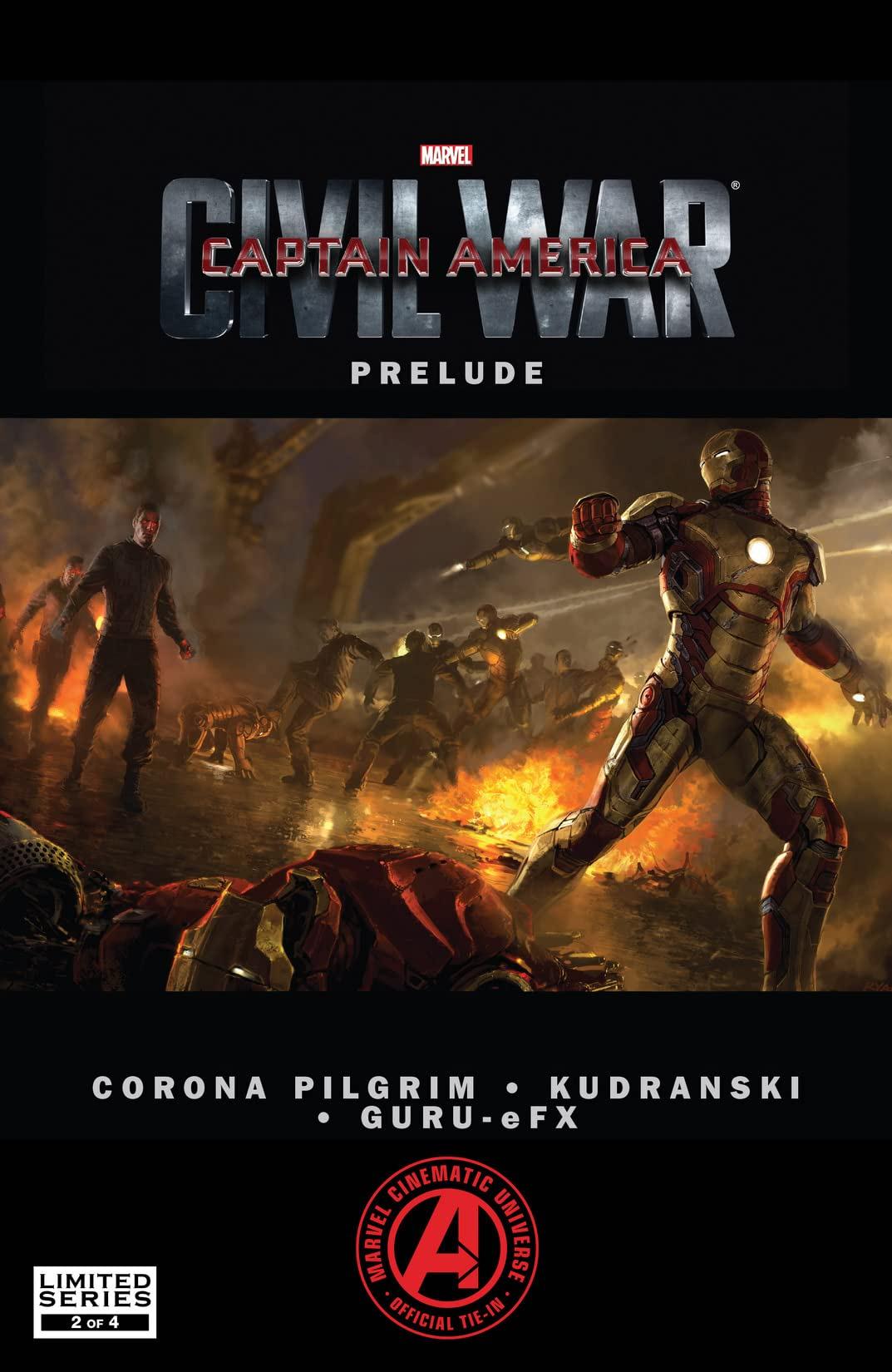 Marvel's Captain America: Civil War Prelude (2015) #2