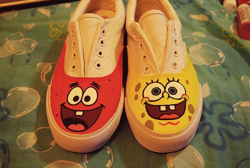 Kolorowe buty!!!!