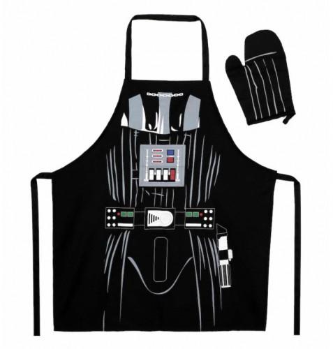 Fartuch i rękawica Darth Vader