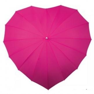 Parasolka w kształcie serca