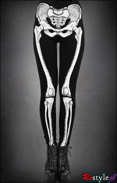 legginsy szkielet