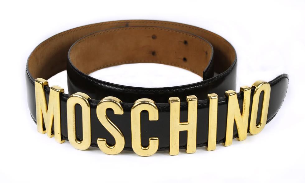 Pasek Moschino