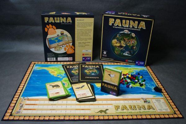 Gra planszowa ,,Fauna'' .