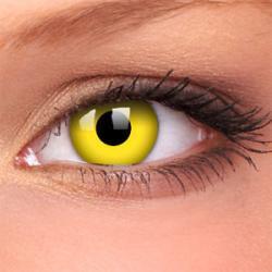 Żółte soczewki kontaktowe