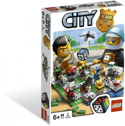 GRA LEGO (3865) City Alarm