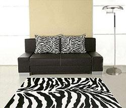 Dywan zebra